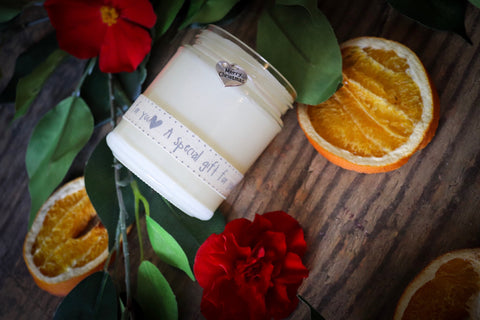 1 x Secret Santa/Christmas Gift Candle