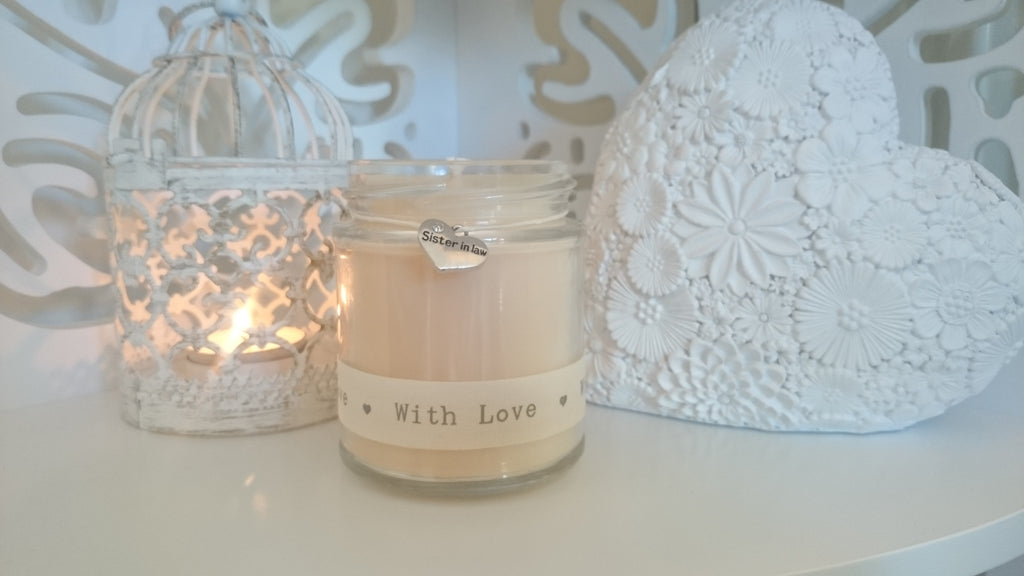 Sister in Law (with love) Scented Candle Gift