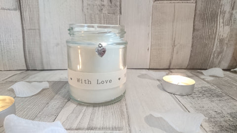 Thank You (with love) Scented Candle
