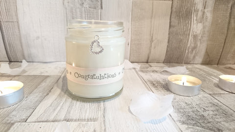 Sparkle Heart (Congratulations) Scented Jar Candle