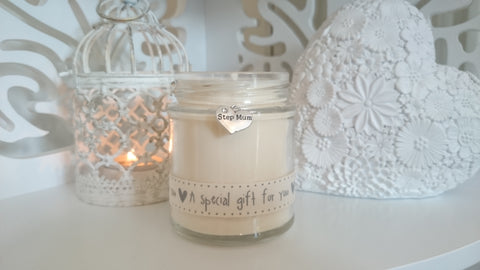 Step Mum (a special gift for you) Scented Candle