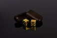 14K Gold Dice - Select Your Dice & Case - GRAVITY DICE