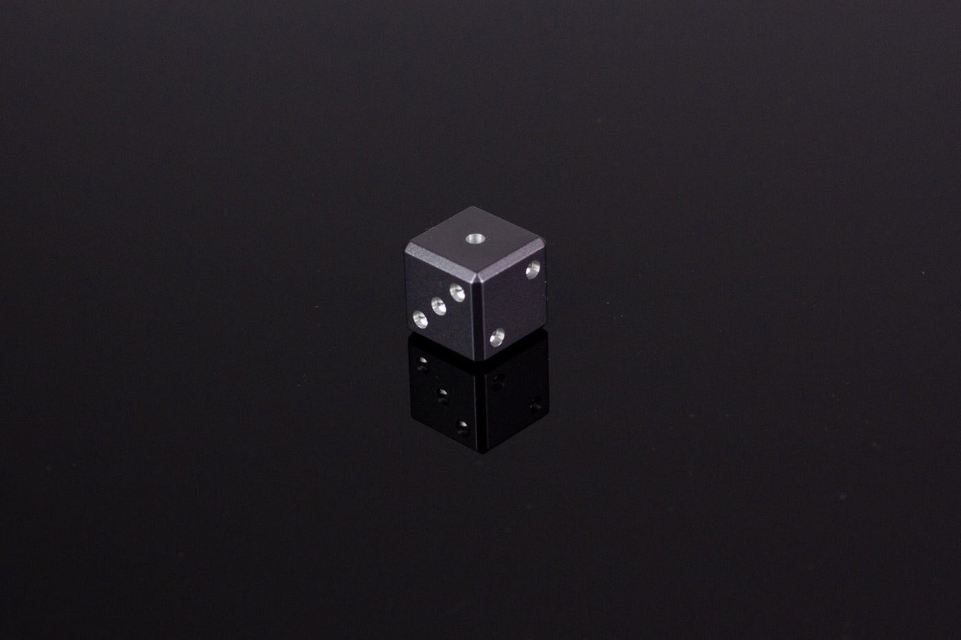 D6 Dice - Gunmetal Gray - Select Your Dice & Case - GRAVITY DICE