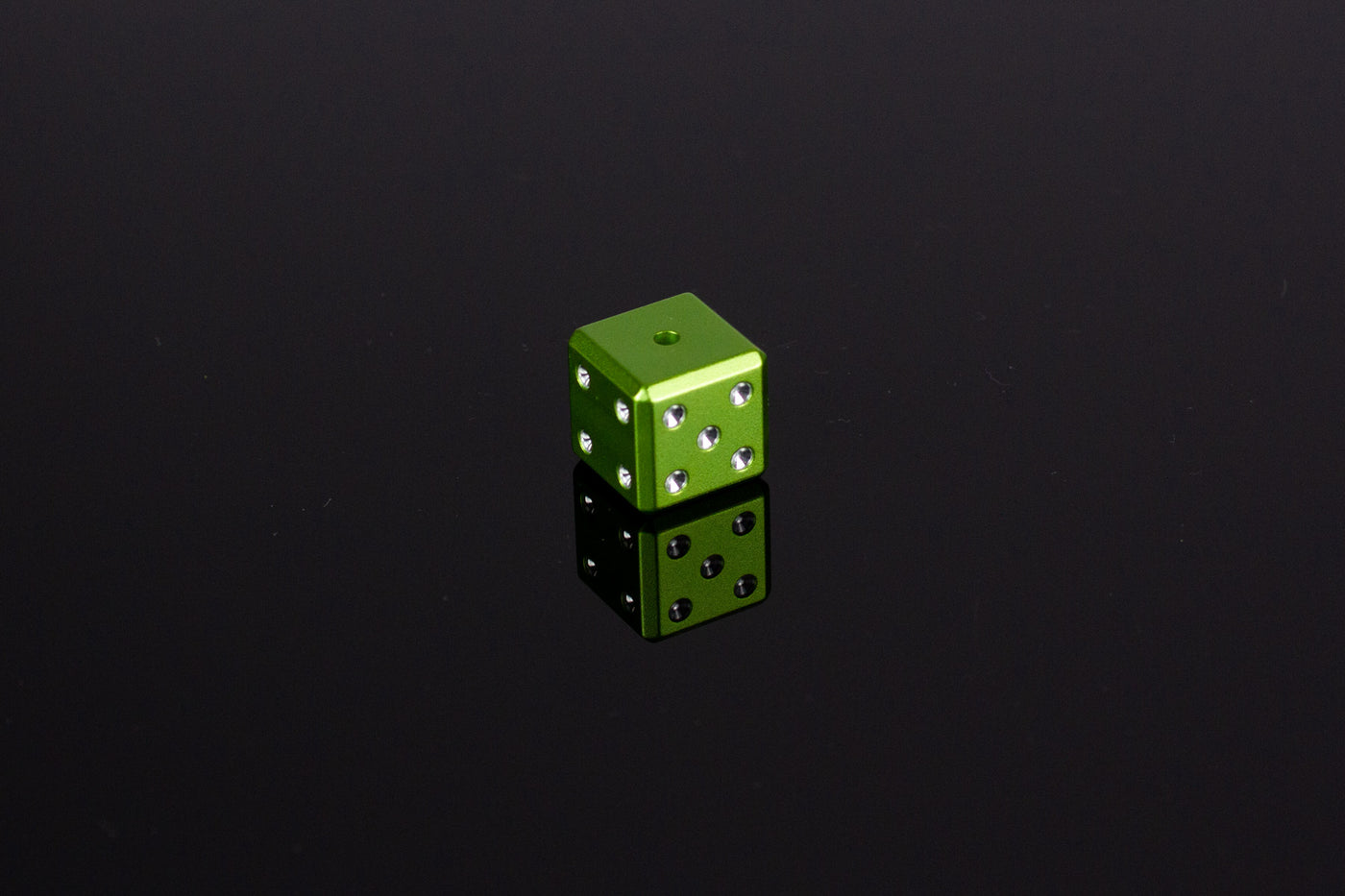 D6 Dice - Light Green - Select Your Dice & Case - GRAVITY DICE