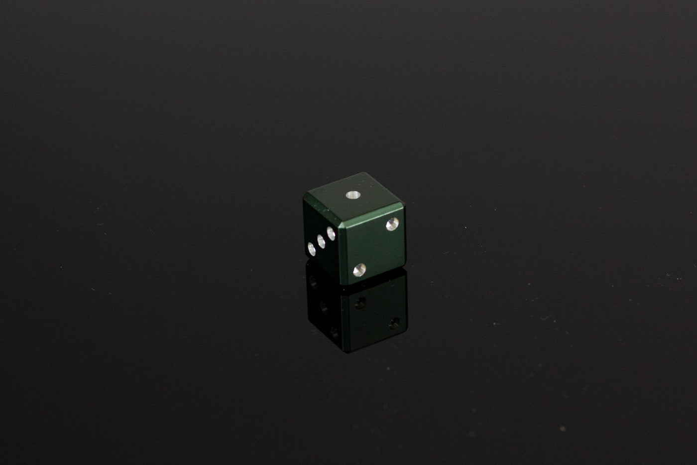D6 Dice - Dark Green - Select Your Dice & Case - GRAVITY DICE