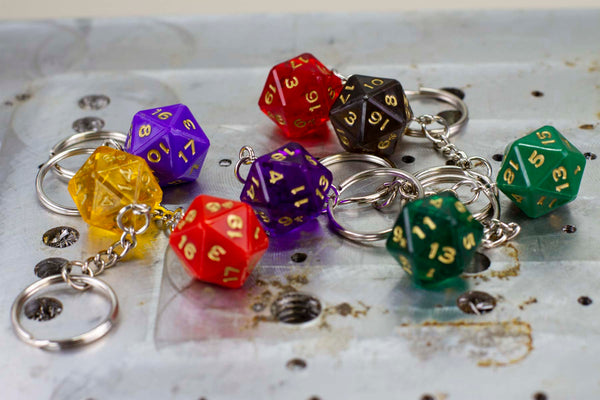 D20 Keychain - GRAVITY DICE