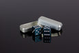 D6 Dice - Ocean Water Teal (Limited Edition Color) - Select Your Dice & Case - GRAVITY DICE