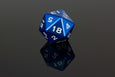 Table Breaker Series 40mm D20 - Bolivar the Blue - GRAVITY DICE