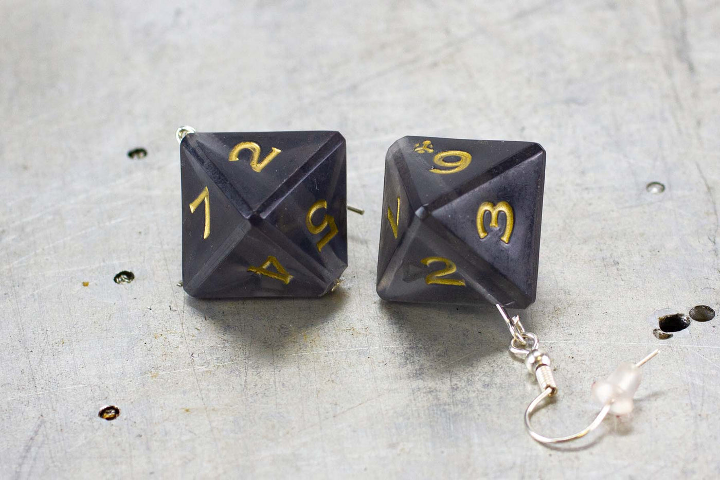 D8 - Dice Earrings - GRAVITY DICE