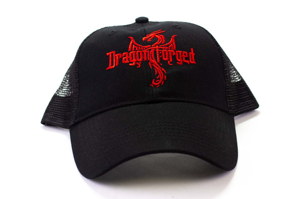 Dragon Forged Snap Back Trucker Hat - GRAVITY DICE