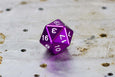 D20 - Individual Polyhedral Dice for RPGs - GRAVITY DICE