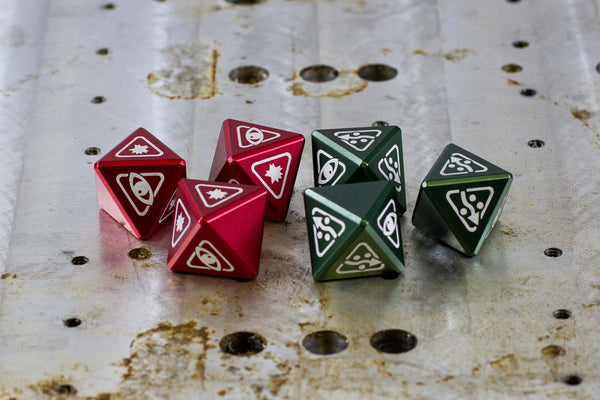 Star Wing Metal Dice - Unofficial - GRAVITY DICE