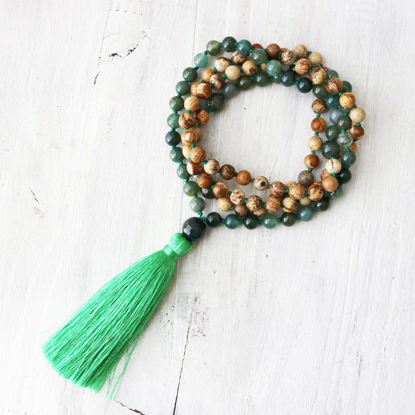 Earth Spirit Mala