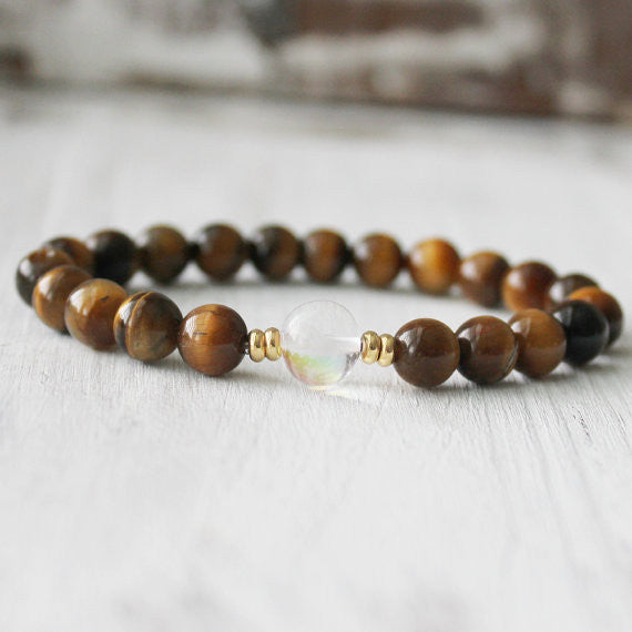 Tiger Eye Yoga Healing Bracelet