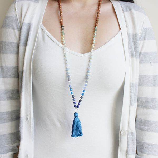 Green Mountain Blue Sea Mala