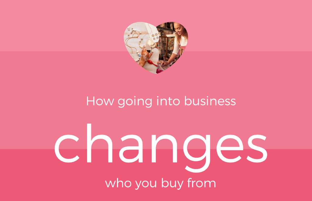 How going into business changes who you buy from