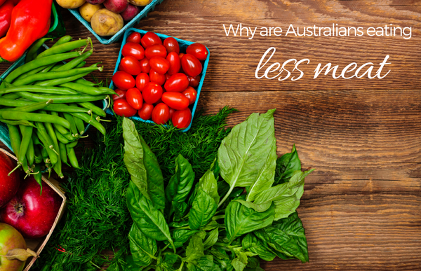 Why are more Australians going vegetarian?