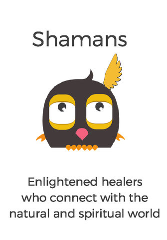 Shamans by life-changing learning