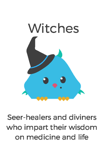 Witches by life-changing learning