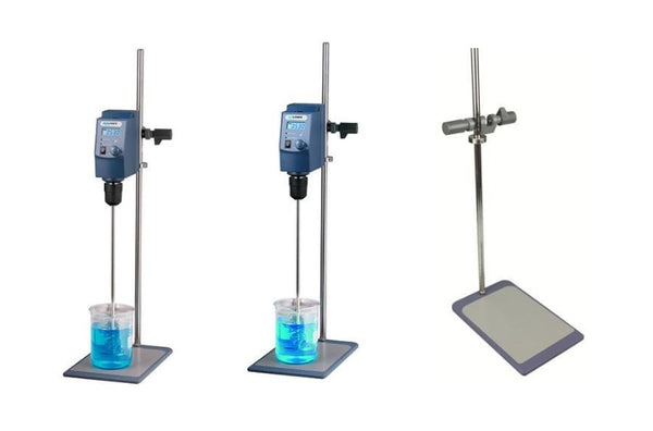 The OS20 and OS40-Pro Overhead Stirrers.