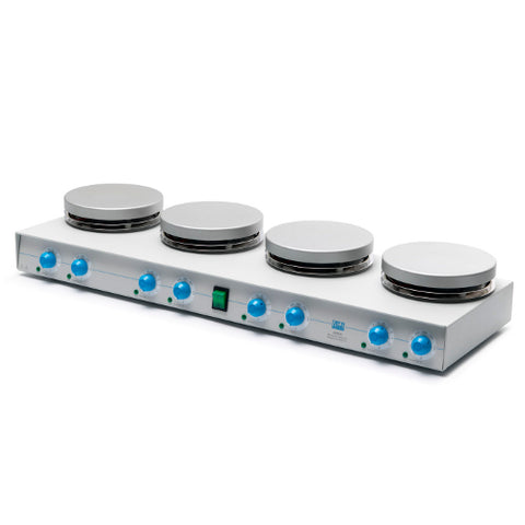 VELP AM4 Multi-Position Aluminum Hot Plate Stirrer image