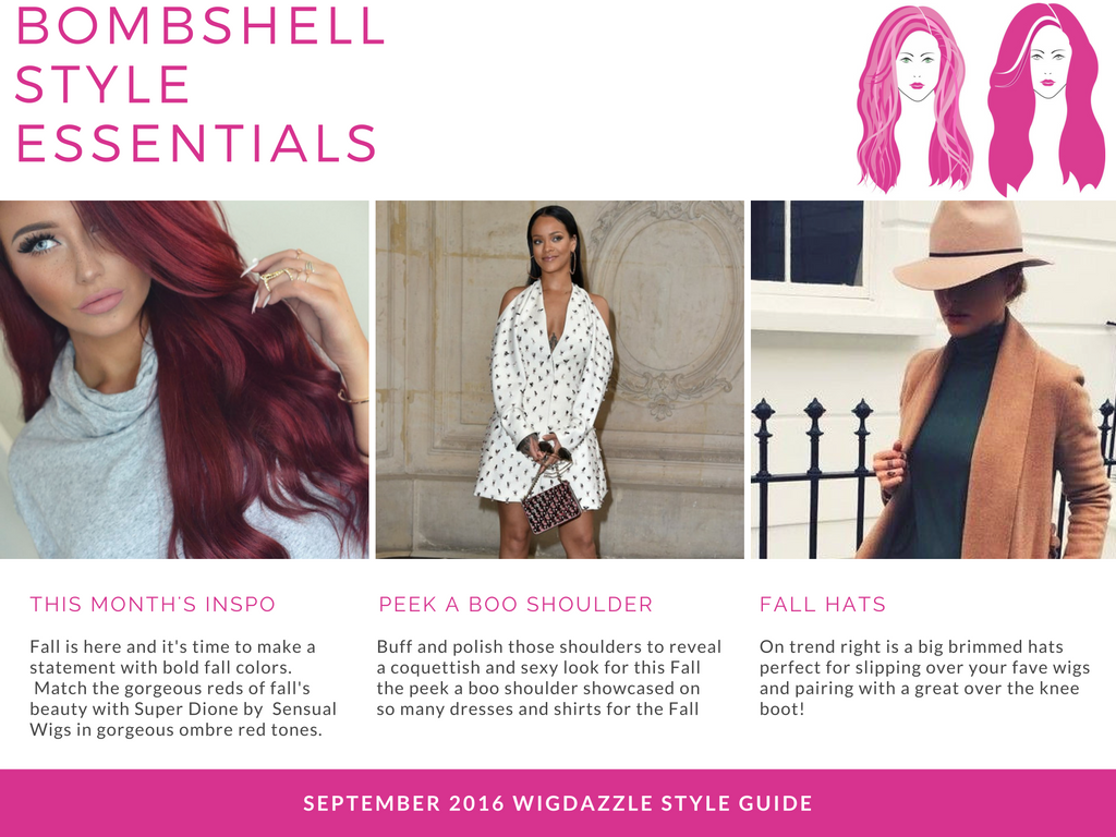 Monthly Wig Subscription Bombshell Profile