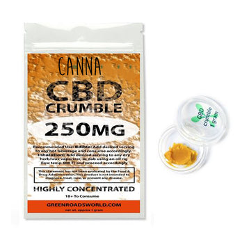 CANNA CBD Crumble 250mg highly concentrated