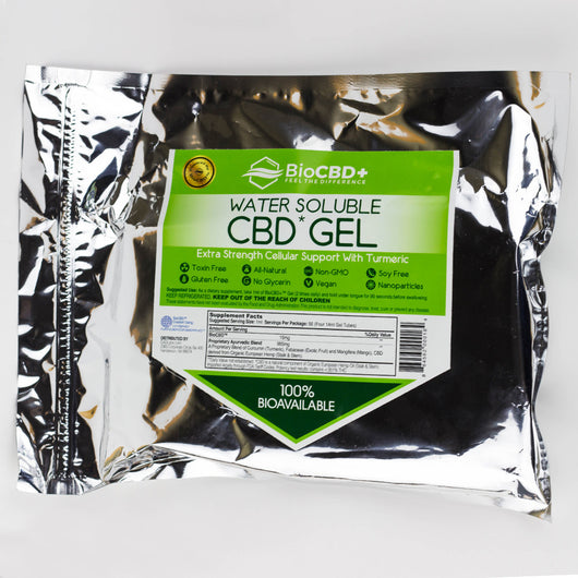 Water Soluble Hemp Extract Gel 100% Bioavailable - CANNA - 2