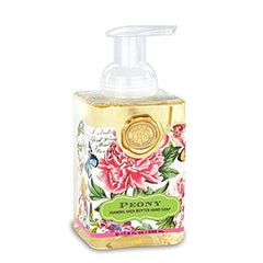 Peony Foaming Hand Soap,Liquid Hand Soap by Michel Design Works