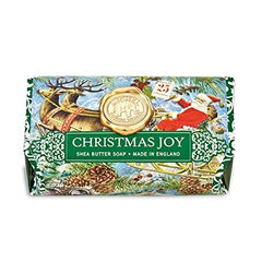 Special Christmas Joy Collections Large Bath Soap Bar - Discounted Because of Packaging
