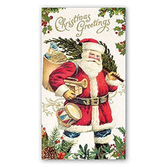 Decoupage Christmas Paper Napkins,Lunch, Beverage & Dinner, Party Napkins by Michel Design Works, Guest Napkin