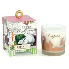 lapin 6.5 oz. soy wax candle from FND Promotion by Michel Design Works