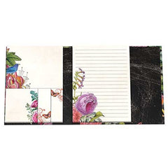 Botanical Garden Large Sticky Note Folio from FND Promotion by Michel Design Works