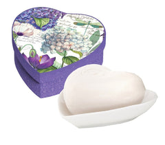 Christmas Gift, Hydrangea Hearts &Flowers Gift Set by Michel Design Works