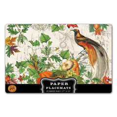 Autumn Harvest Paper Placemat from FND Promotion by Michel Design Works