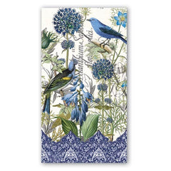 Blue Hostess Napkins from FND Promotion by Michel Design Works