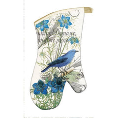 Blue Oven Mitt from FND Promotion by Michel Design Works