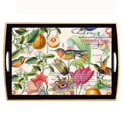 Neroli Large Decoupage Wooden Tray from FND Promotion by Michel Design Works