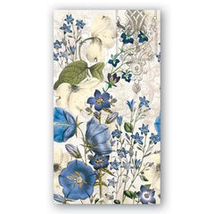 Blue Meadow Guest Napkins from FND Promotion by Michel Design Works