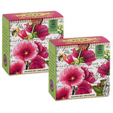 2 x Hollyhock A Little Soap by Michel Design Works (2 pieces)