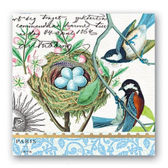 Bird Nest Luncheon Napkins from FND Promotion by Michel Design Works