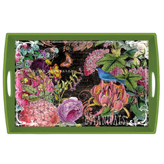 Botanical Garden Large Decoupage Wooden Tray from FND Promotion by Michel Design Works