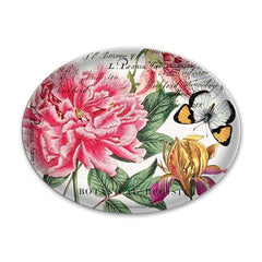 Peony Glass Soap Dish from FND Promotion by Michel Design Works