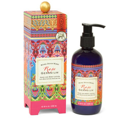 Rose Geranium Hand and Body Lotion from FND Promotion by Michel Design Works