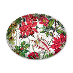 Holiday Christmas Collections Glass Soap Dish
