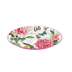 Peony Medium Metal Tray
