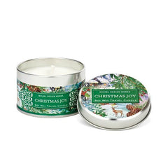 Special Christmas Joy Collections Travel Candle Tin