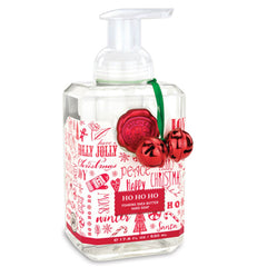NEW! Ho Ho Ho Foaming Hand Soap, Liquid Hand Soap by Michel Design Works