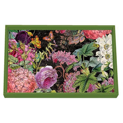 Botanical Garden Decoupage Wooden Vanity Tray