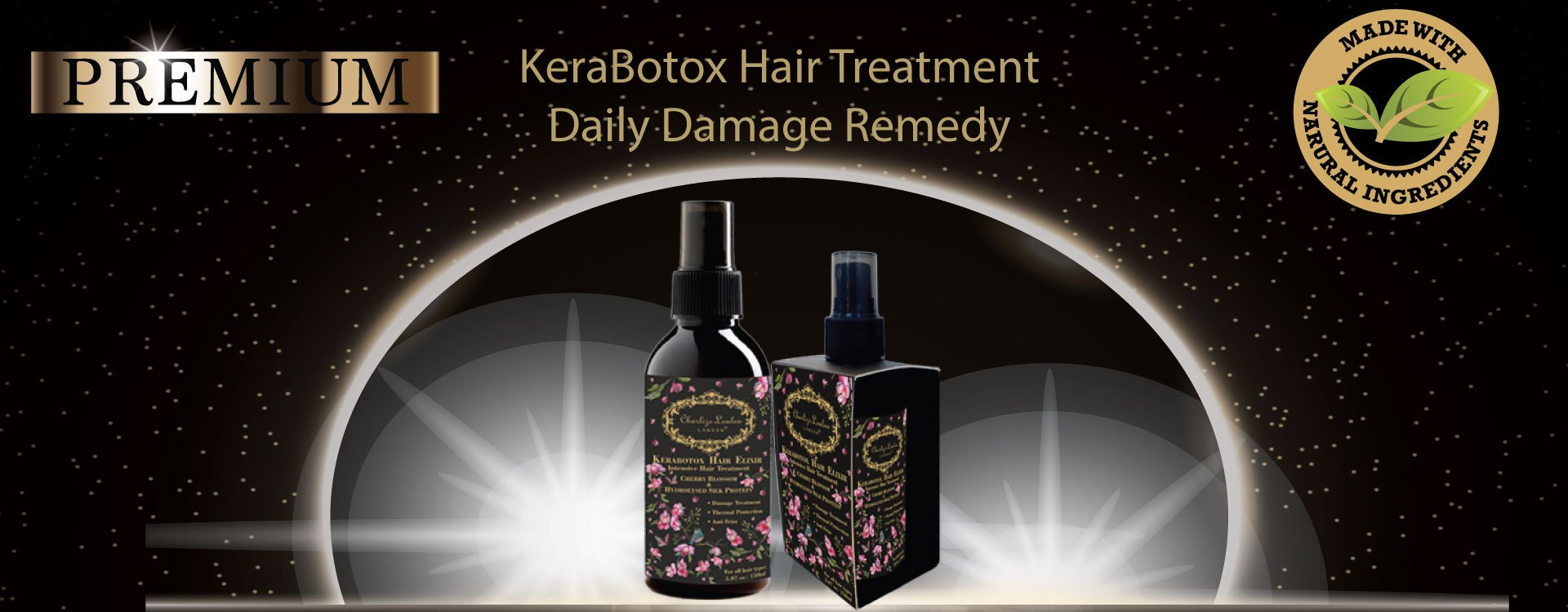 KeraBotox Hair Treatment Daily Damage Remedy can be used on the scalp to help prevent and remedy hair loss and it is effective at this for so many reasons.  How to Use Castor Oil Treatments on Hair KeraBotox Hair Elixir can be very beneficial for hair growth if used correctly. Small amounts of intensive elixir can be used for an all-over treatment. Like many things in life, more is not always better, The additional elixir usage are completely optional will not cause any harm.